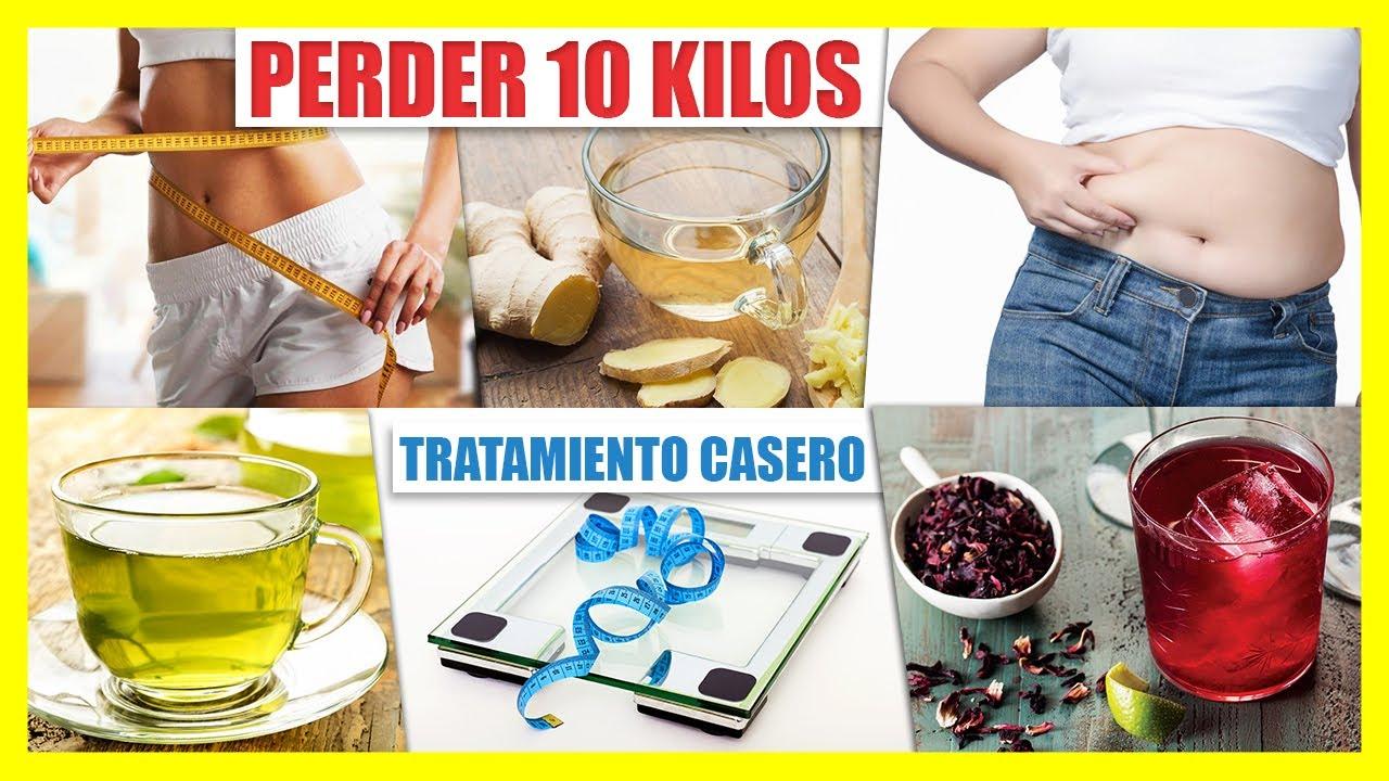 bajar de peso 10 kilos en 1 semana en español