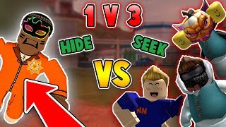 1v3 HIDE AND SEEK in ROBLOX JAILBREAK!!! *INSANE* (Part 1)