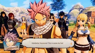 Fairy Tail - PlayStation Access EGX 2019 Gameplay