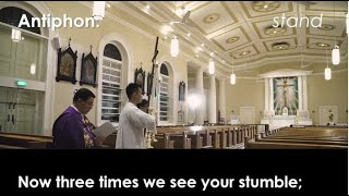 Stations of the Cross (Week 6): Lent 2020 @ Cathedral of the Good Shepherd (Singapore)