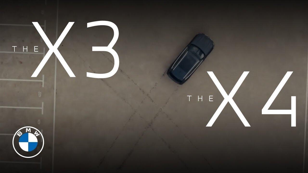 Владеть свободой в совершенстве. Новые BMW X3 и BMW X4.