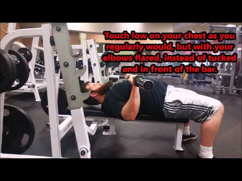 Tucking Your Elbow For Bench - You're Probably Doing It Wrong