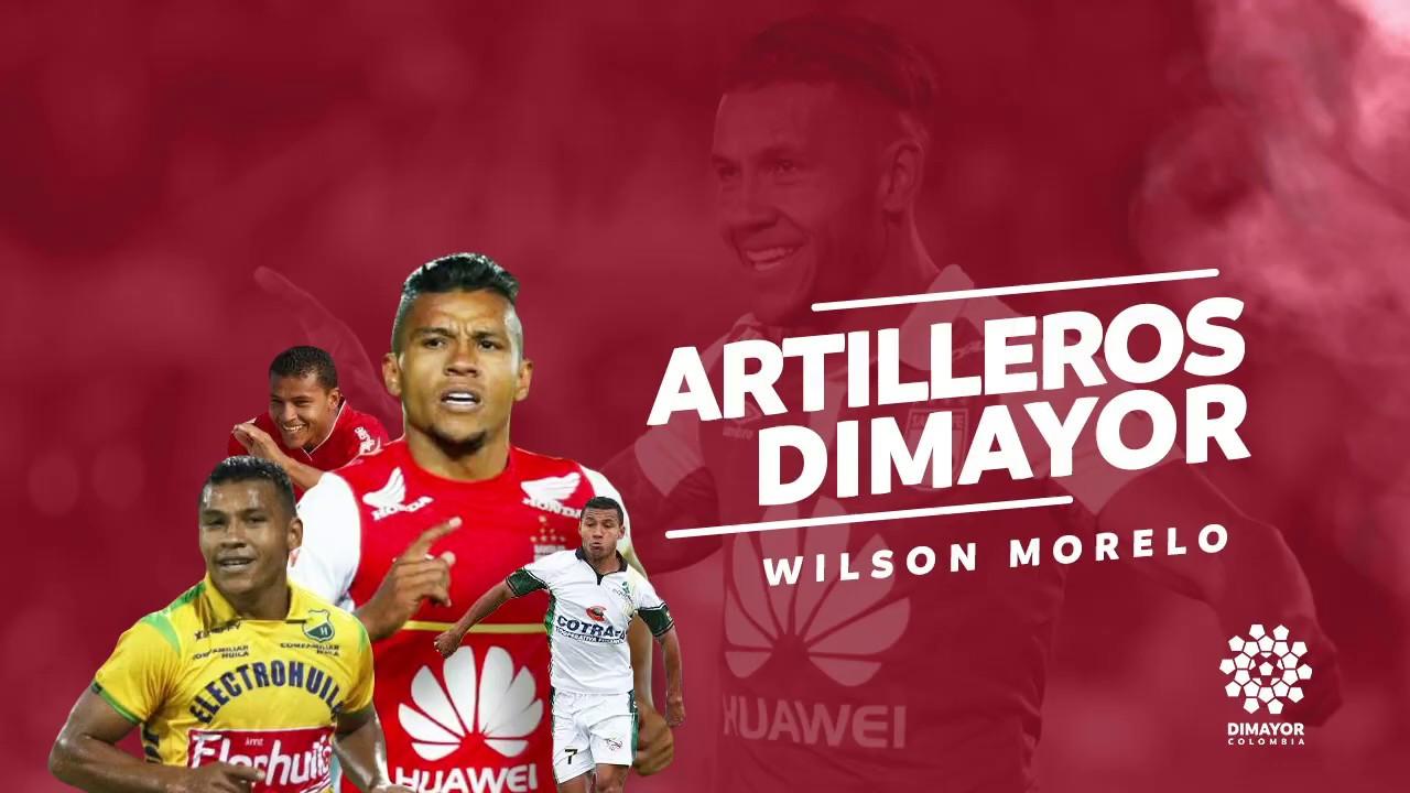 Artilleros Dimayor: Wilson Morelo