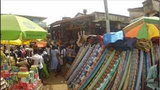 Scenes from an African market @ 120fps