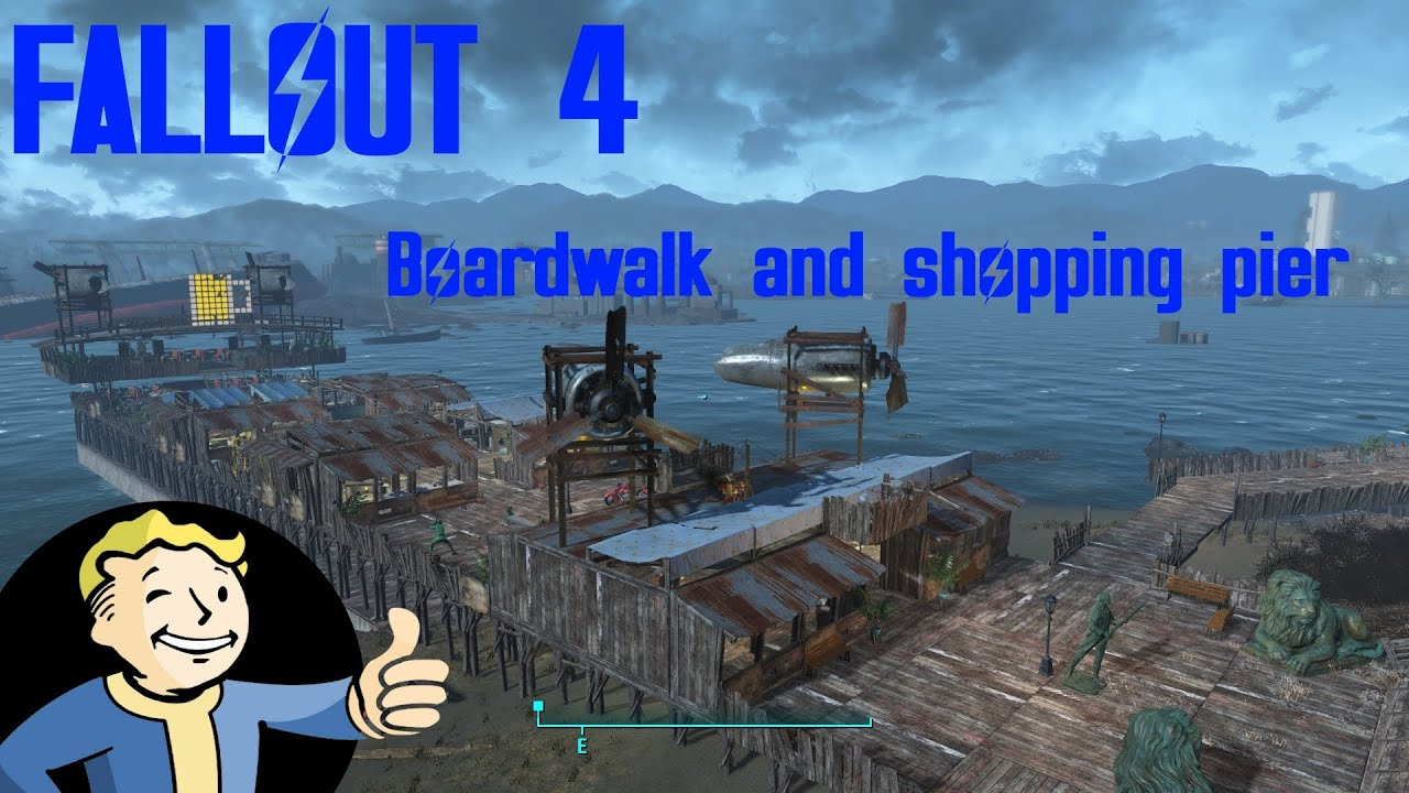 Fallout 4 spectacle island boardwalk and shopping pier for Fallout 4 bedroom ideas