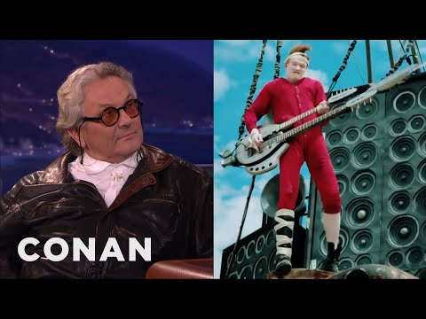 George Miller Interview Part 1 02/01/16  - CONAN on TBS Mp3