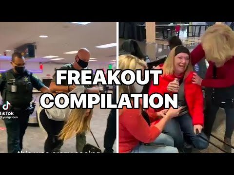 No Fly List Videos Compilation: Trump Supporters Funny Freakouts at Airport over DC Riots 2021