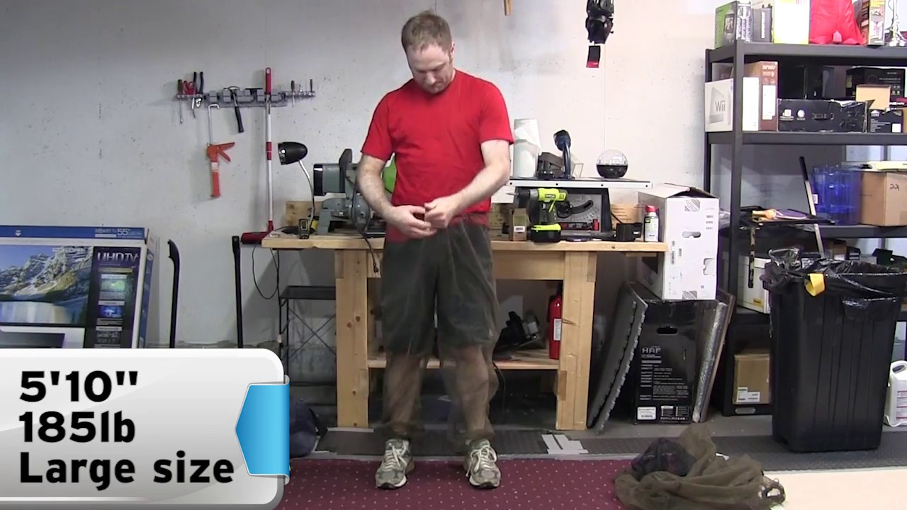 real review mosquito proof bug pants demo youtube