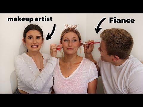FIANCE VS MAKEUP ARTIST... BEAUTY BATTLE!! thumbnail