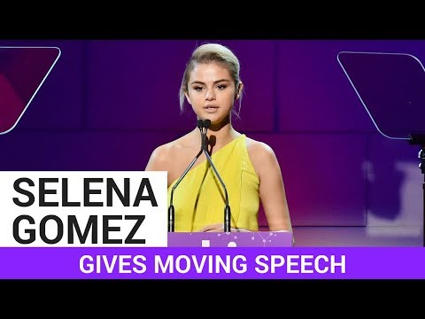 Download Youtube: Selena Gomez Give Emotional Speech At Lupus Gala