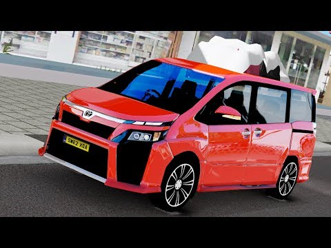 Mudik Ke Purwokerto Naik Toyota Voxy Terbaru - Euro Truck Simulator 2
