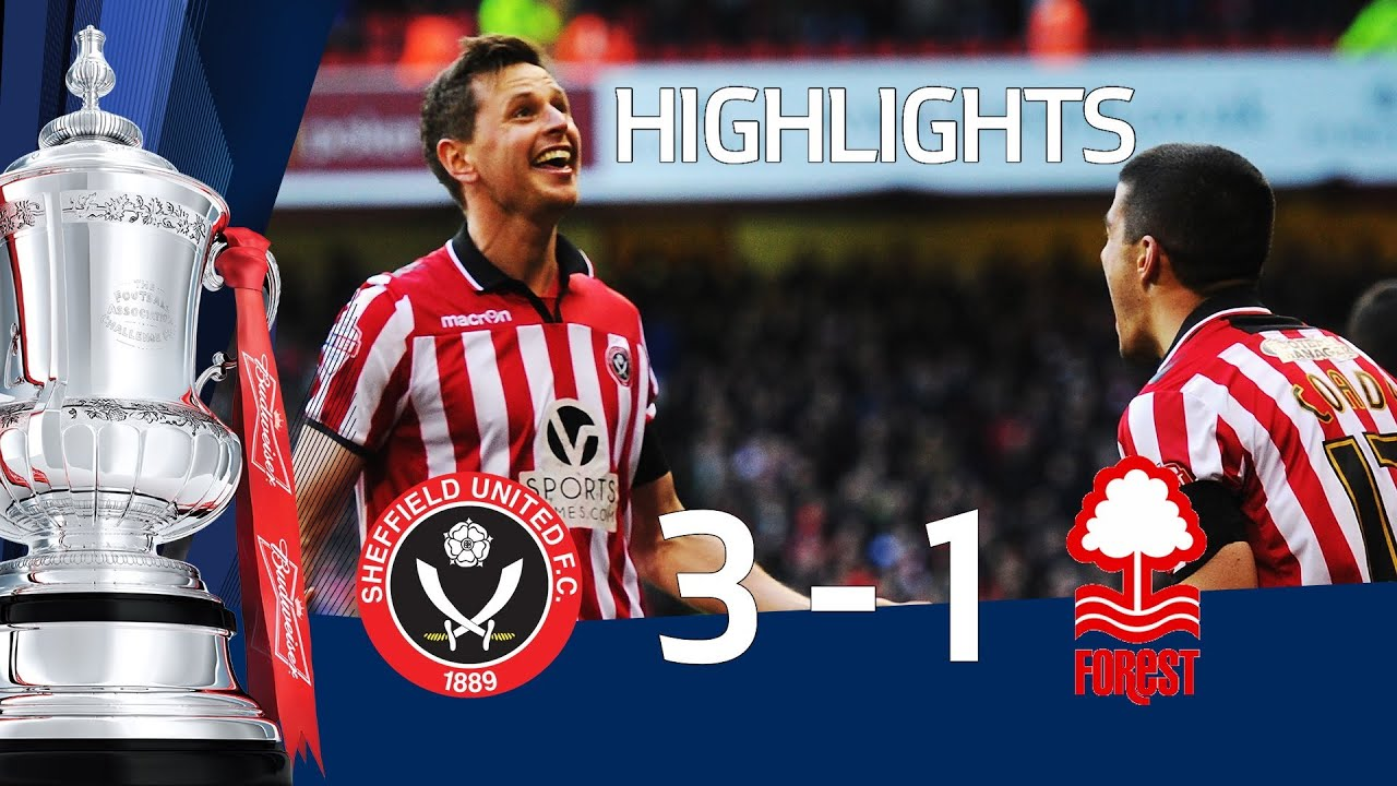 Sheffield United vs Nottingham Forest 3-1, FA Cup 5th Round goals & highlights