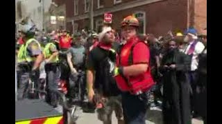 CHAOS erupts when cops disappear during illegal Antifa/BLM march (Faith Goldy excerpts)