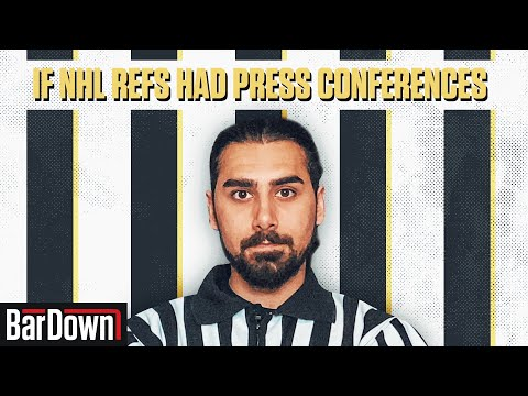 TSN - IF NHL REFS HAD PRESS CONFERENCES (MONTREAL/VEGAS GAME 4 EDITION)