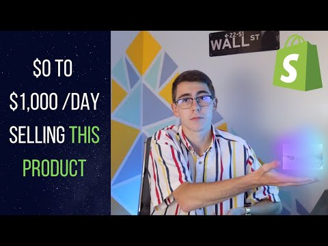How I Made $1,000 /Day Selling This WINNING PRODUCT | Shopify Dropshipping thumbnail