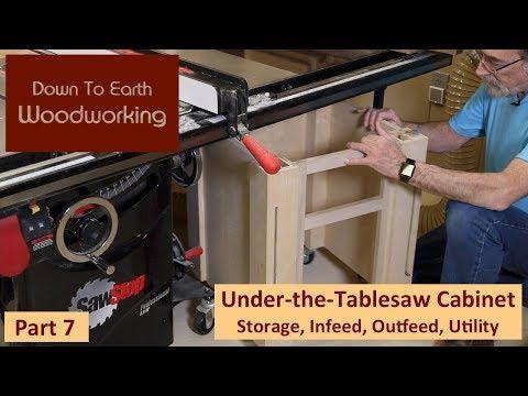 Under Table Saw Storage Cabinet Part 7