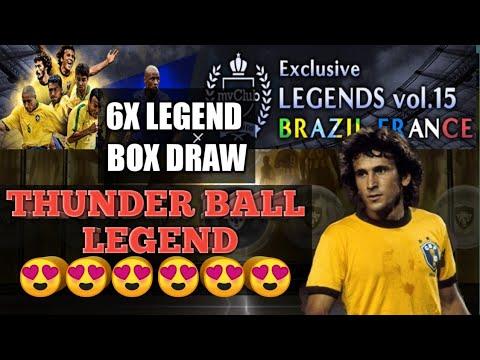 Get Thunder Black Ball Legend Exclusive LEGENDS vol.15 BRAZIL FRANCE