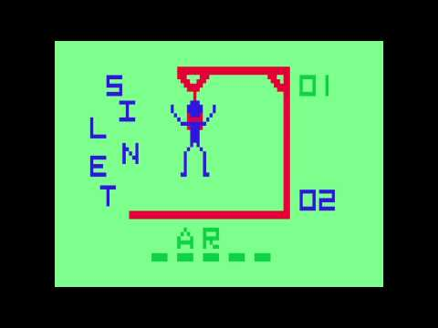 VC 18 - Hangman - (1978) - Channel F - WIN! HD