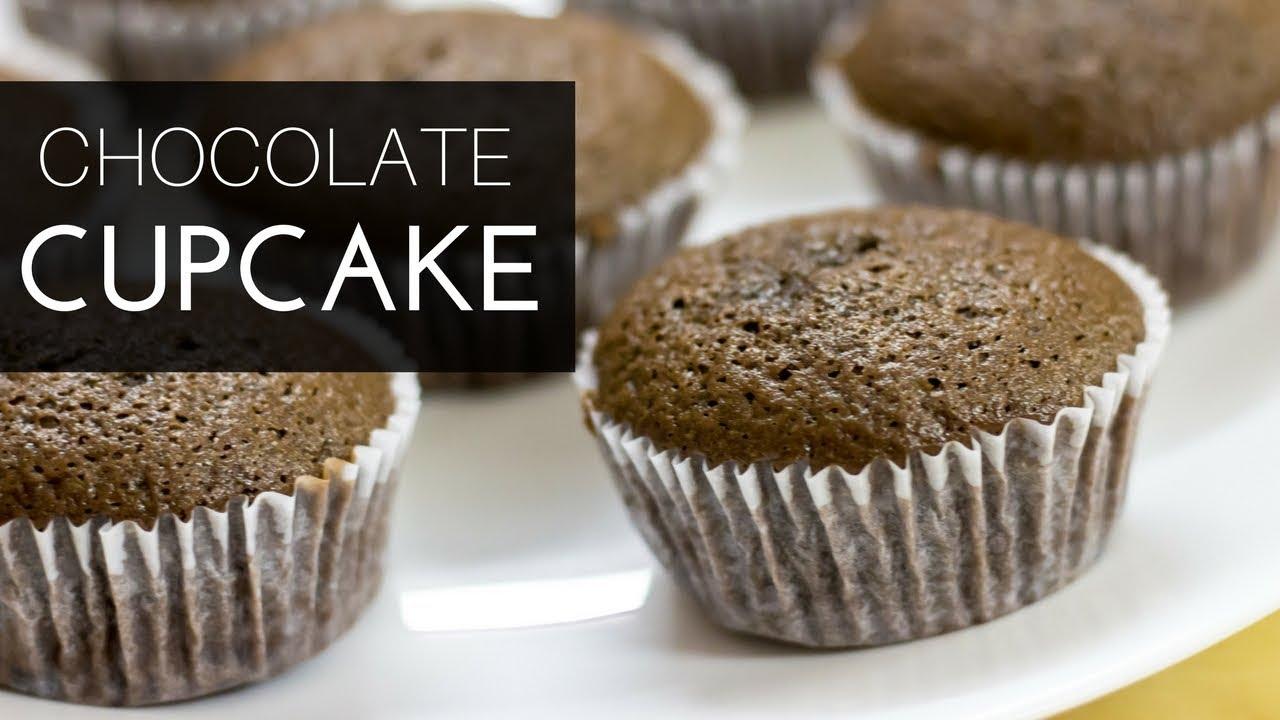 Chocolate Cupcake | Easy Chocolate Cupcake Recipe ...