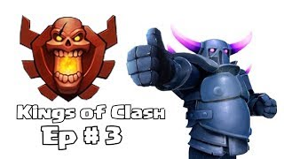 Clash of clans - Kings of Clash ( interviewing Kings landing )