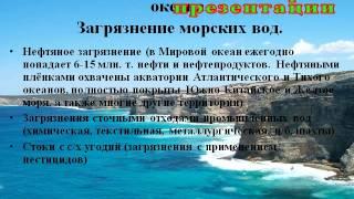 Презентация Мировой океан