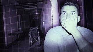 OVERNIGHT IN USA's MOST HAUNTED ABANDONED HOSPITAL! We cannot explain what happened...