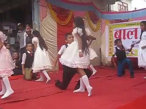 RoseMary School Dhading Child Dancing on Peheli Najar mei ...