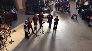 Hand Bell Ringers at the Charles River Museum of Industry and Innovation