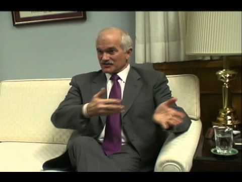 Jack Layton interview