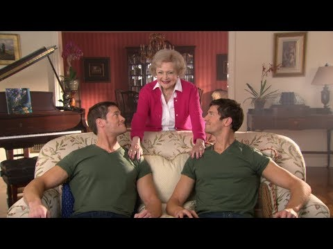 Betty White Has a Nice Pair of Twins | Betty