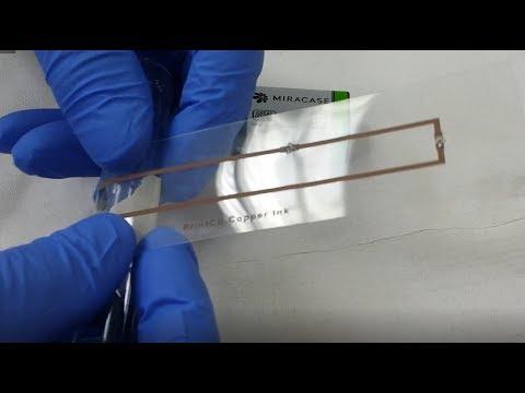 Diy copper conductive ink