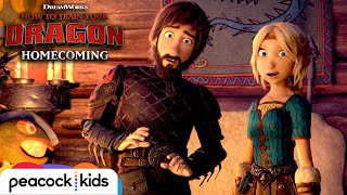 Hiccup's Kids HATE Dragons? | HOW TO TRAIN YOUR DRAGON - HOMECOMING