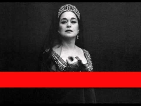 Leyla gencer bellini norma 39 casta diva 39 youtube - Norma casta diva bellini ...