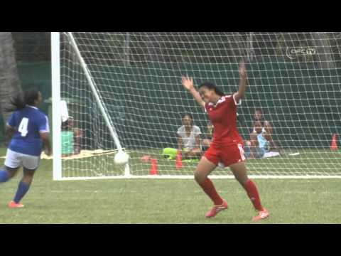2016 OFC U17 Women's Championship | Samoa v Tonga - Highlights