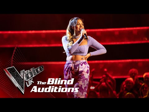 Lucy Calcines' 'Mi Gente'   Blind Auditions   The Voice UK 2020