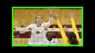 Breaking News | No. 1 gophers volleyball team tops no. 20 michigan in four sets to open big ten play