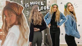 GET THE LOOK: Instagram model (hair, makeup & style)