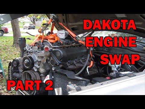 4.7 Dodge Motor >> Dodge Dakota 4 7 Into A Dodge Ram 1500 4 7 Engine Swap Part 2