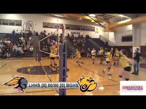 Lake Havasu High School Girls Varsity Volleyball vs. Barry Goldwater HS - Oct. 25, 2016