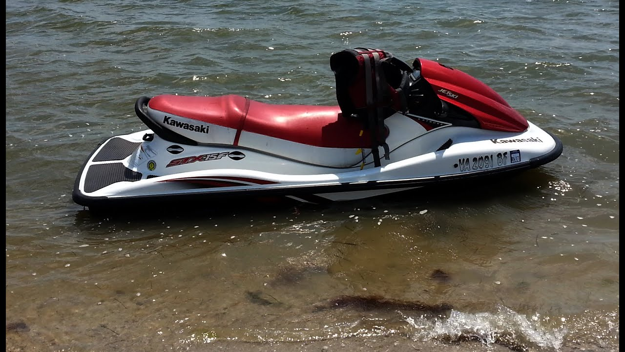 Winterizing Kawasaki STX 15F Jet Ski Including Anti Freeze In ...