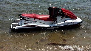 winterizing kawasaki stx 15f jet ski including anti freeze in cooling system