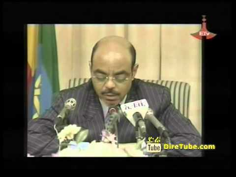 Meles Zenawi Talks about the time when the war is over