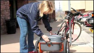 Using your Ridekick power trailer instead of an electric bike #12: Getting the Groceries