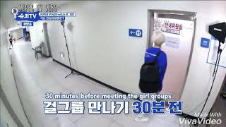 Super TV - Yesung Donghea and Eunhyuk chose member of girl group ( Gugudan WJSN and Weki Meki )