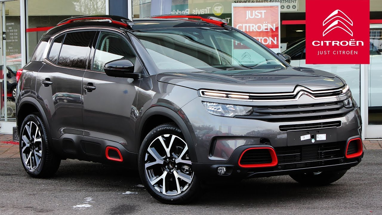 2019 citroen c5 aircross flair plus in platinum grey. Black Bedroom Furniture Sets. Home Design Ideas