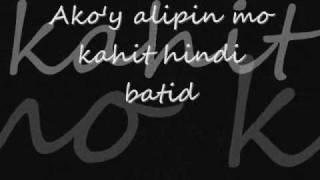 alipin acoustic w lyrics