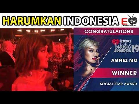 HARUMKAN INDONESIA, AGNESMO WINNER IHEART RADIO MUSIC AWARDS 2019
