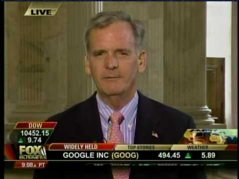 Senator Gregg speaks with Fox Business