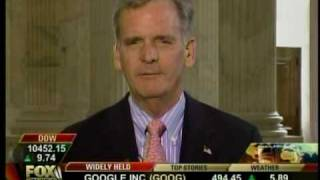 Senator Gregg speaks with Fox Business