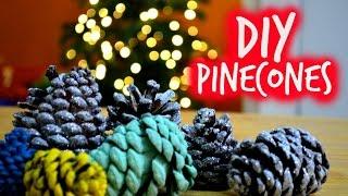 DIY ADORNOS NAVIDEÑOS I PINECONES Thumbnail